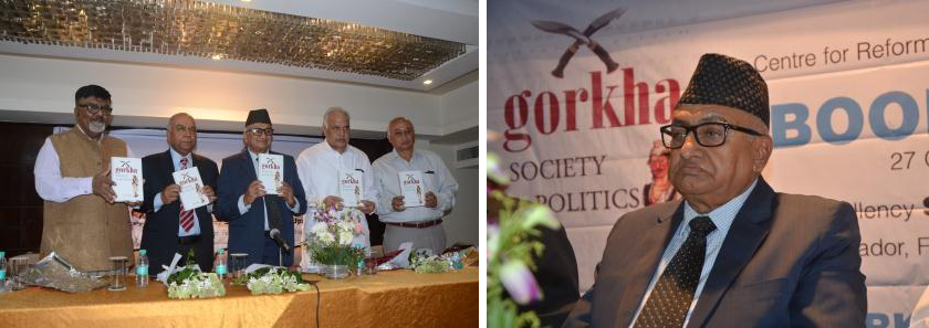 Gorkha: Society & Politics launched in Dehradun