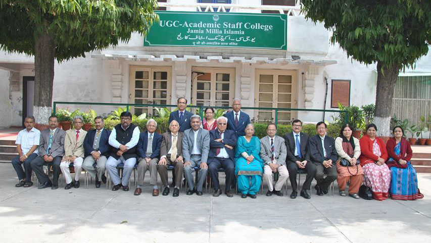 Principal's Workshop on 'Quality Higher Education' at the Academic Staff College, Jamila Millia Islamia, New Delhi